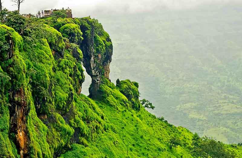 Elephant Head Point Mahabaleshwar