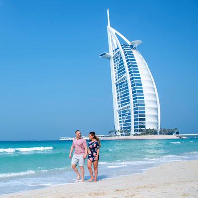 Dubai Honeymoon Couple