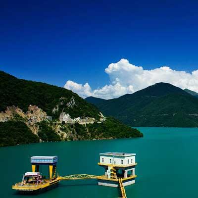Zhinvali Water Reservoir