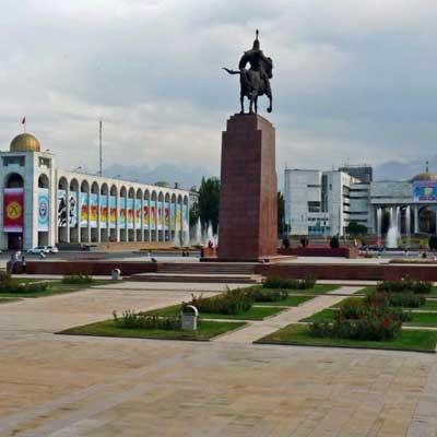 Republic Square Kyrgyzstan