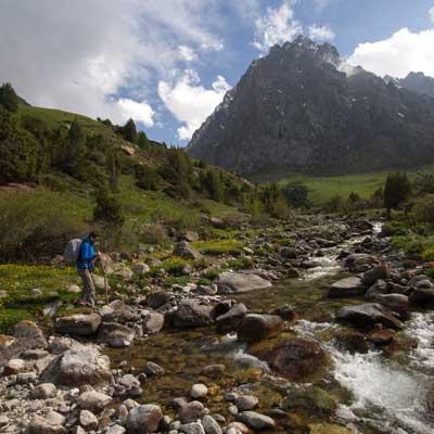 Issyk Ata Valley