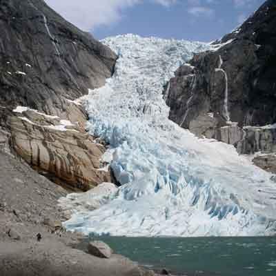 Briksdalen Glacier