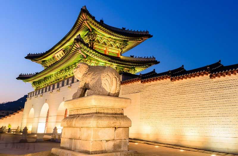 Korea Gyeongbokgung Palace
